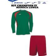 Joma- Completo Calcio - Kit Champion IV M/L
