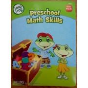 Leapfrog Preschool Math Skills (Grades Pre-k) Workbook & Reward Stickers