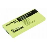 Öntapadó jegyzettömb, 38x51mm, 3x100 lap, DONAU ECO, sárga (D7591)