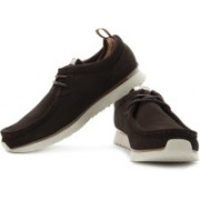 Clarks Tawyer Lo Corporate Casuals For Men(Brown)