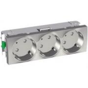 Altira 3X2P+F Csatlakozóaljzat 45°, Alumínium ALB46262-Schneider Electric