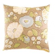 """Canaan 2003-D 24"""" x 24"""" hip dove floral pattern throw pillow with a feather/down insert and zippered removable cover"""