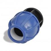 vidaXL PE spojka kompresní zátka - 2 ks 16 barů / 32 mm