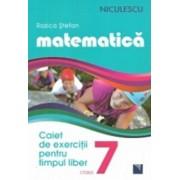 Matematica. Caiet de exercitii pentru timpul liber. Clasa a VII-a/Rozica Stefan