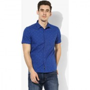 Red Chief Blue Shirt Reguler Casual Other Shirts (8120093 002)