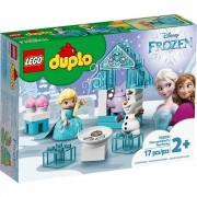 Lego set de construcción lego duplo fiesta de té de elsa y olaf 10920