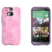 Otterbox Custodia per HTC One M8 Symmetry Series Back Cover Dreamy Rosa