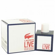 Lacoste Live For Men By Lacoste Eau De Toilette Spray 3.4 Oz