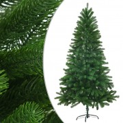 vidaXL Изкуствено коледно дърво, реалистични иглички, 150 см, зелено