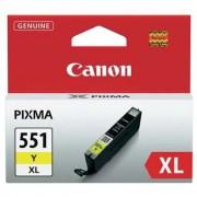 Canon CLI-551XLY galben (yellow) cartus original