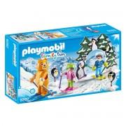 Playmobil Escola de esqui 9282Multicolor- TAMANHO ÚNICO