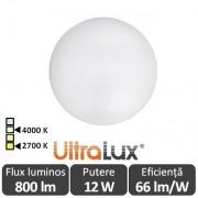 Ultralux Plafonieră Led 12W SPL1240/1227