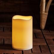 Bougie Pilier LED d'Extérieur à Piles