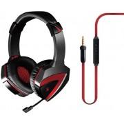 Casti Gaming A4Tech Bloody G500, microfon pe fir, control volum pe casca (Negre)