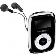 MP3 reproduktor Intenso Music Mover 8 GB, crne boje, pričvrsna kopča
