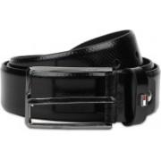 Tommy Hilfiger Men Formal Black Genuine Leather Belt