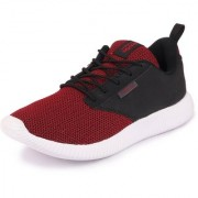 Action Men's Red Black Sports Running Shoes