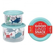 Sugarbooger Good Lunch Small Snack Container Ocean