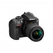 Cámara Reflex Digital Nikon D3400 Lente 18-55mm-Negro