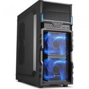 Sharkoon Middle VG5-V, Black w/Blue Led