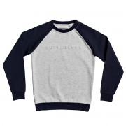 Quiksilver Sweat enfant Quiksilver col rond Berry Patch gris