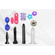 GameChanger Asso T/A Gemnations £14.99 instead of £99.99 (from Fifty Shades of Lust) for a 10 piece couples' adult toy weekend set - save 85%