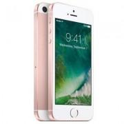 Apple Begagnad iPhone SE 64GB Rosa Guld Olåst i topp skick Klass A