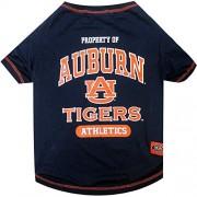 Pets First Collegiate Auburn Tigers Dog tee Shirt, Medium