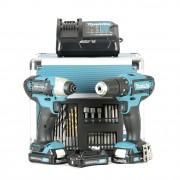 Makita CLX202SAX2 Set Trapano avvitatore e impulsi 3 Batterie da 10,8V
