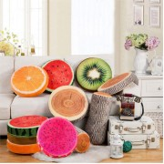 Detachable Fruit Pet Pad Cat Dog Puppy Mat Simulation Fruit Small Animal Bed