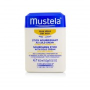 Mustela Nourishing Stick With Cold Cream (Lips & Cheeks) - For Dry Skin 9.2g