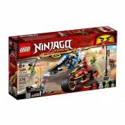 MOTO ACUCHILLADORA DE KAI Y MOTONIEVE DE ZANE - LEGO NINJAGO
