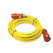 TROTEC Cable alargador profesional de 20 m / 400 V / 6 mm² (CEE 32 A) - Made in Germany