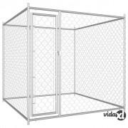vidaXL Vanjski kavez za pse 193 x 193 x 185 cm