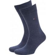 Tommy Hilfiger Classic 2-Pack Sokken Blauw