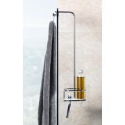 Giese Vipa Duschkorb mit Halter für Rasierer, für Glaswand bis 9 mm, 30950-02 30950-02
