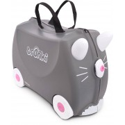 Trunki Benny The Cat Resväska 18L, Grey