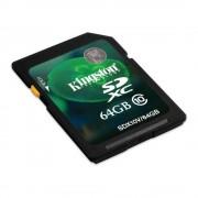 Kingston SDXC 64GB Class10 memóriakártya