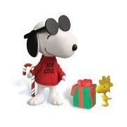 Peanuts Charlie Brown Christmas Jolly Joe Cool Snoopy Deluxe Figure
