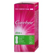 Carefree Absorbante Pantyliners Aloe x 20 buc