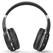Bluedio H+ Turbine draadloze Bluetooth 4.1 Stereo hoofdtelefoon hoofdtelefoon met Mic & Micro SD Card Slot & FM-Radio voor iPhone Samsung Huawei Xiaomi HTC en andere Smartphones alle Audio Devices(Black)