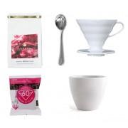 Kedvezményes Kávés csomag Cupping eszközökkel és hario filter dripperrel