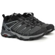Salomon X ULTRA 3 GTX® Waterproof Hiking and Trekking For Men(Black, Grey)