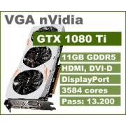 VGA nVidia GeForce GTX 1080 Ti, 11GB, 36mj