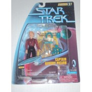 CAPTAIN BEVERLY PICARD Star Trek: The Next Generation Warp Factor Series 2 1997 Action Figure from the Episode All Good Things...