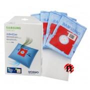 Sáčky WORWO SMB01AO Anti-Odour (k Samsung) 4ks mikrovlákno