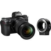 Nikon »Kit Z 6 24–70 + FTZ« Systemkamera (NIKKOR Z 24–70 mm 1:4 S, 24,5 MP, Bluetooth, WLAN (Wi-Fi)