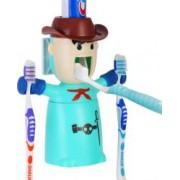 Dispenser-suport pentru periute si pasta de dinti ECOCO - culoarea turcoaz