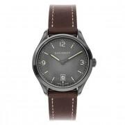 Davidoff Essentials No. 1 Reloj de cuarzo acero inoxidable grau-anthrazit
