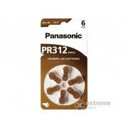 Set baterii zinc-aer Panasonic PR312L/6LB , PR41 (6 buc.)